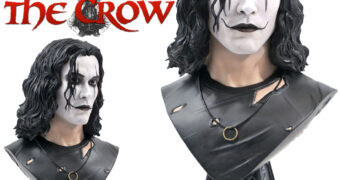 Busto O Corvo (The Crow) Legends in 3D em Escala 1:2 (Brandon Lee)