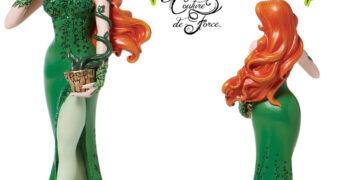 Hera Venenosa (Poison Ivy) Couture De Force – Estátua Alta Costura Enesco DC Comics