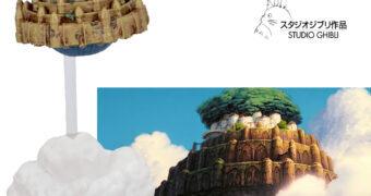 Estátua O Castelo no Céu (Laputa: Castle In The Sky) de Hayao Miyazaki