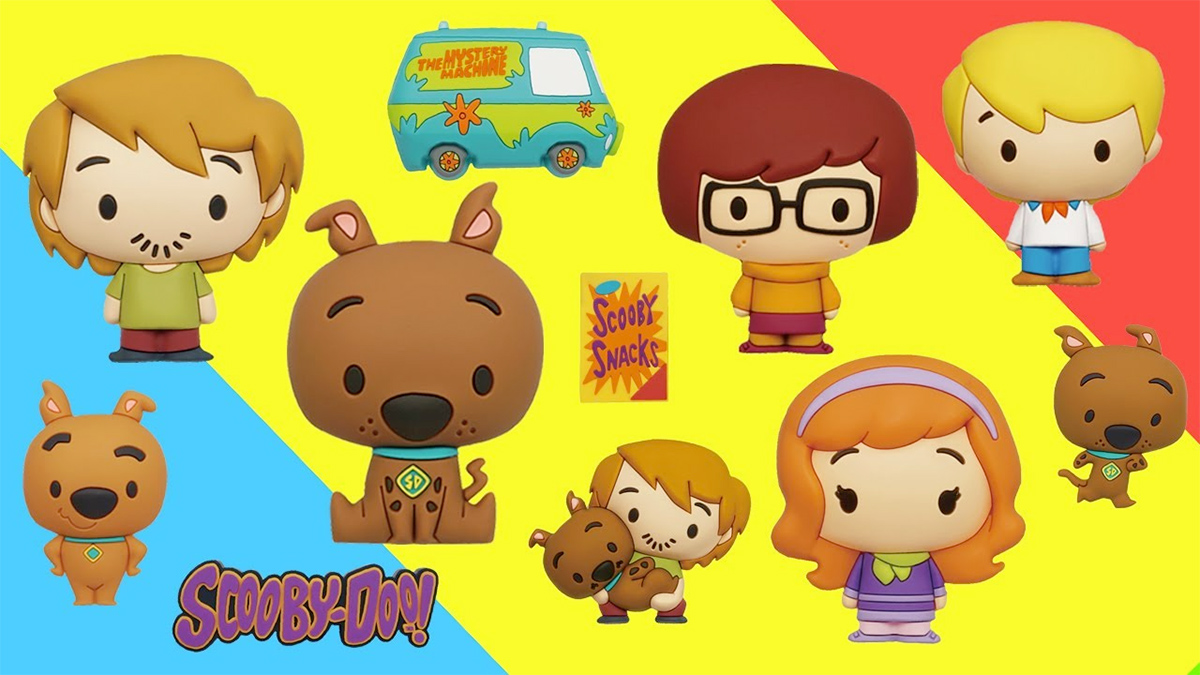 Scooby-Doo Figural Foam Bag Clip