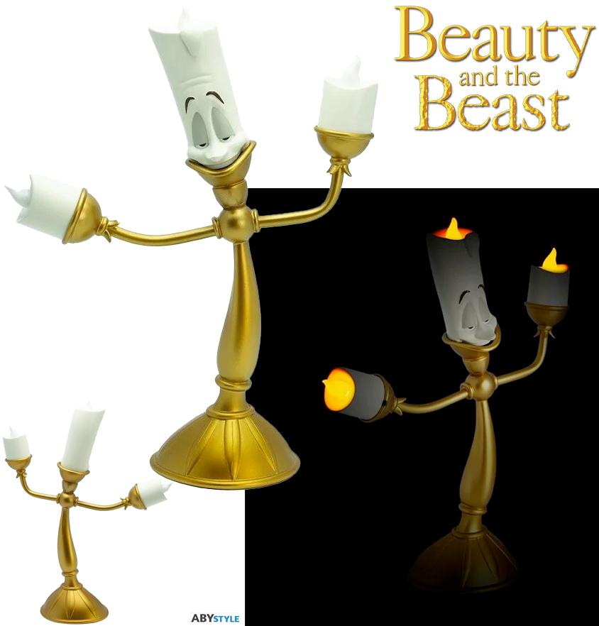 Luminária Candelabro Lumiere de A Bela e a Fera