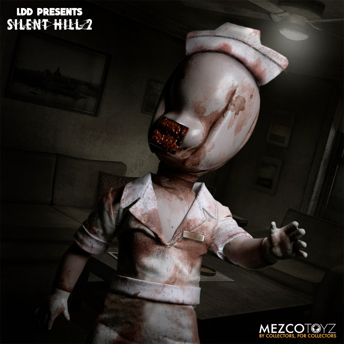 Living Dead Dolls Presents Bubble Head Nurse Silent Hill 2