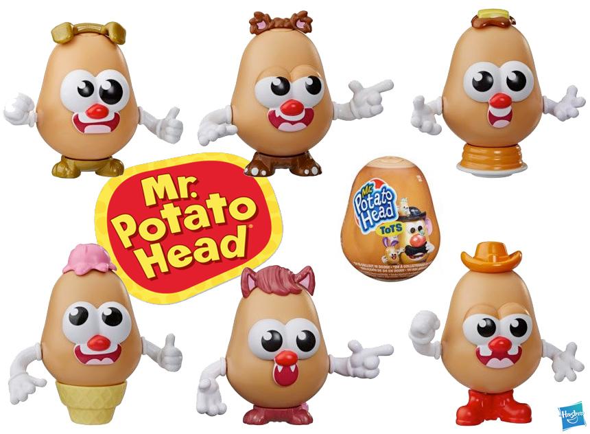 Sr Cabeca de Batata Mr Potato Head Tots Mini Collectible Figures