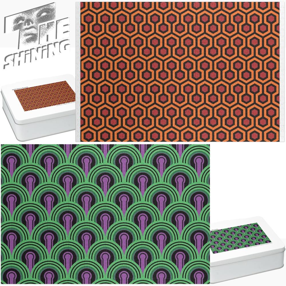 Quebra-Cabeças O Iluminado: Carpete do Overlook Hotel e do Quarto 237
