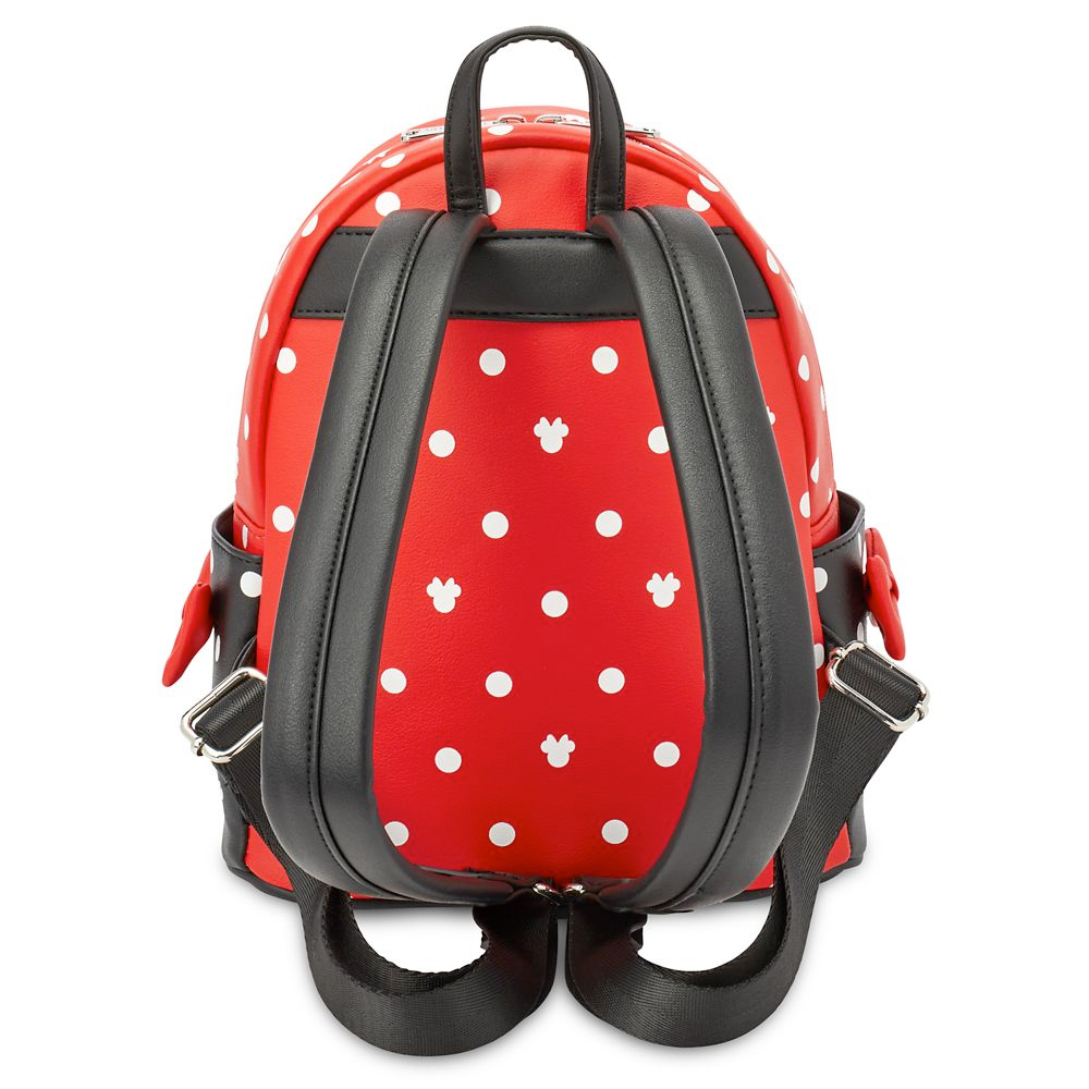 Mochila Minnie Mouse Bow Loungefly Mini Backpack