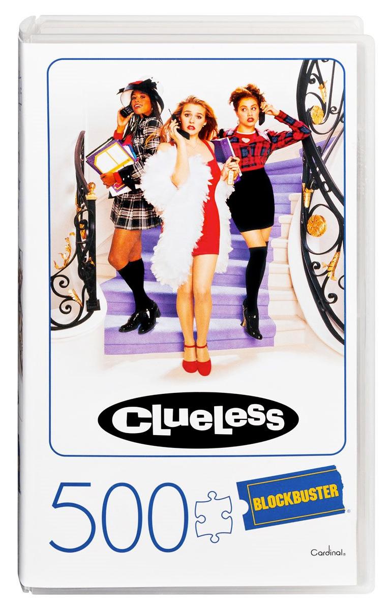 Quebra-Cabeça As Patricinhas de Beverly Hills em Caixa VHS da Blockbuster