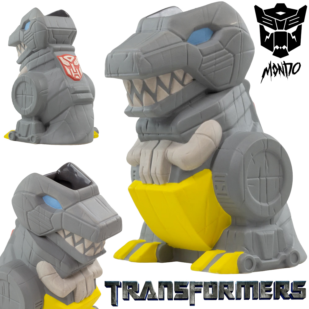 Caneca Transformers Grimlock Tiki Mug