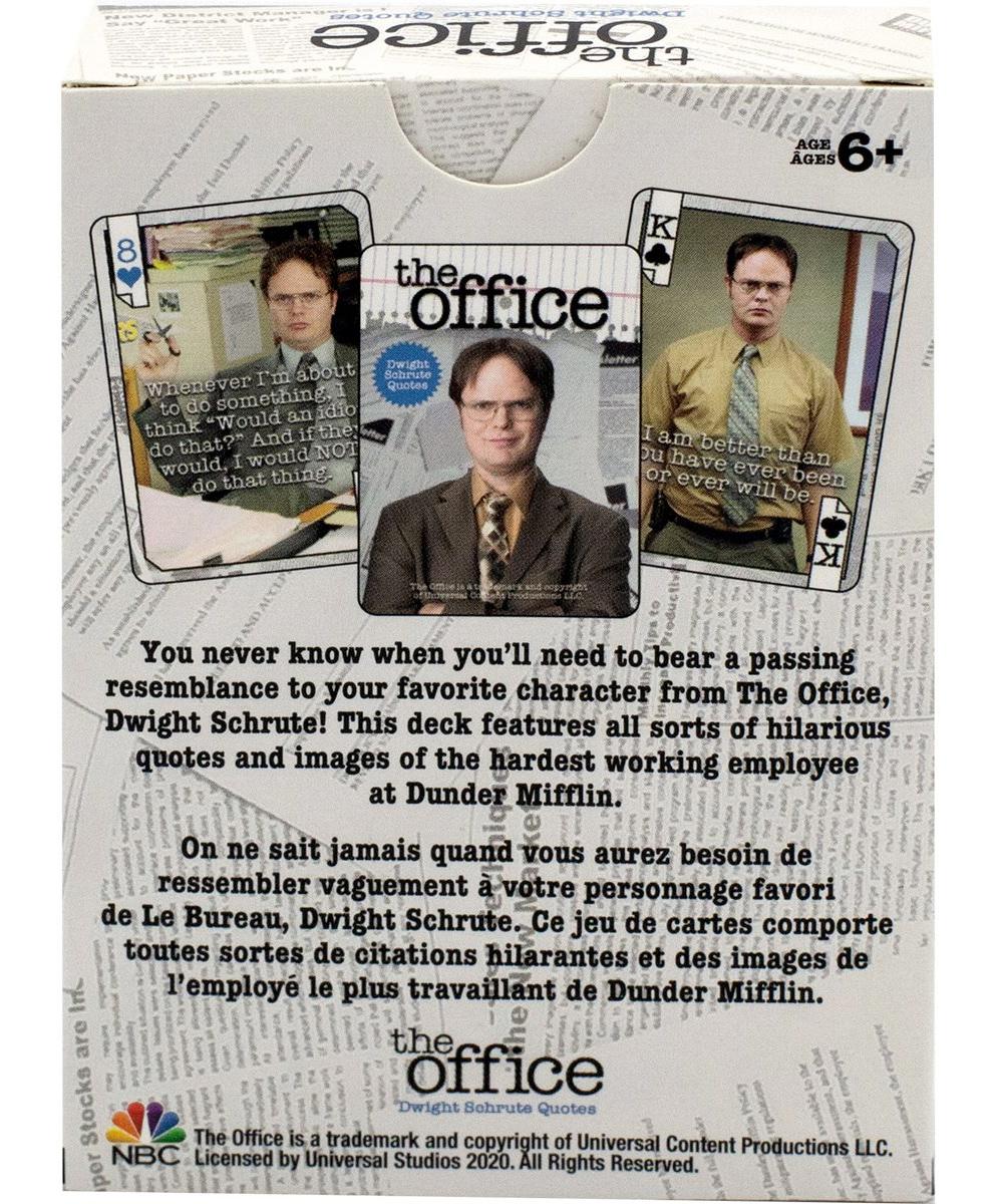 Baralhos The Office Dwight Scrute e Michael Scott-