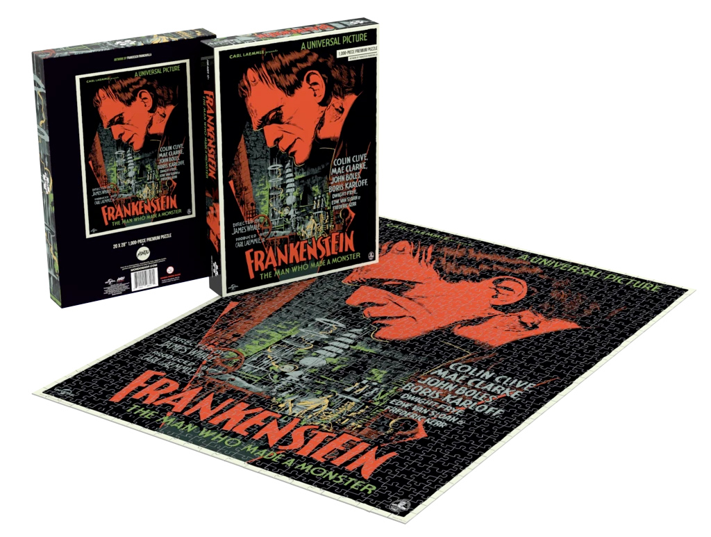 Quebra-Cabeças Universal Monsters Posters by Francesco Francavilla Puzzles