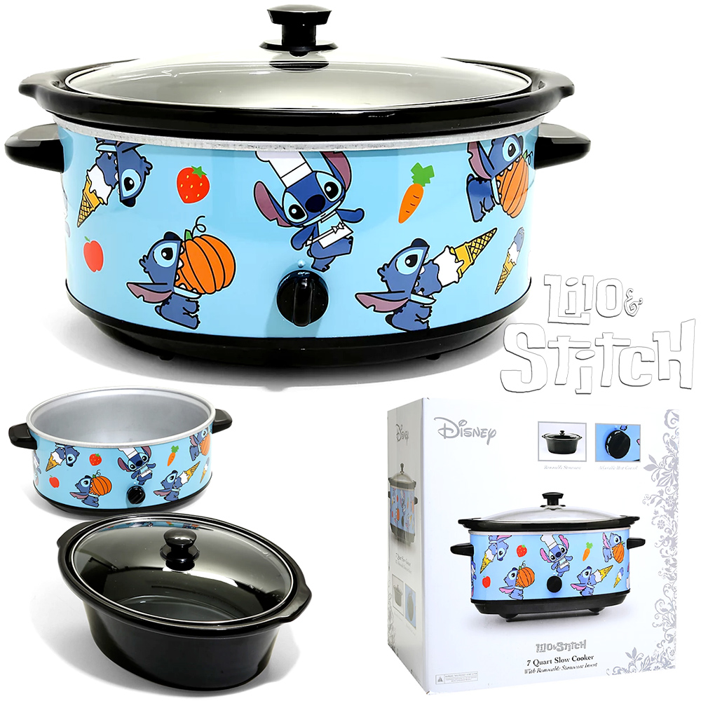 Panela Elétrica Stitch with Snacks Disney Slow Cooker