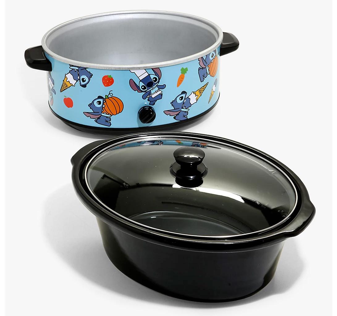 Panela Elétrica Stitch with Snacks Disney Slow Cooker
