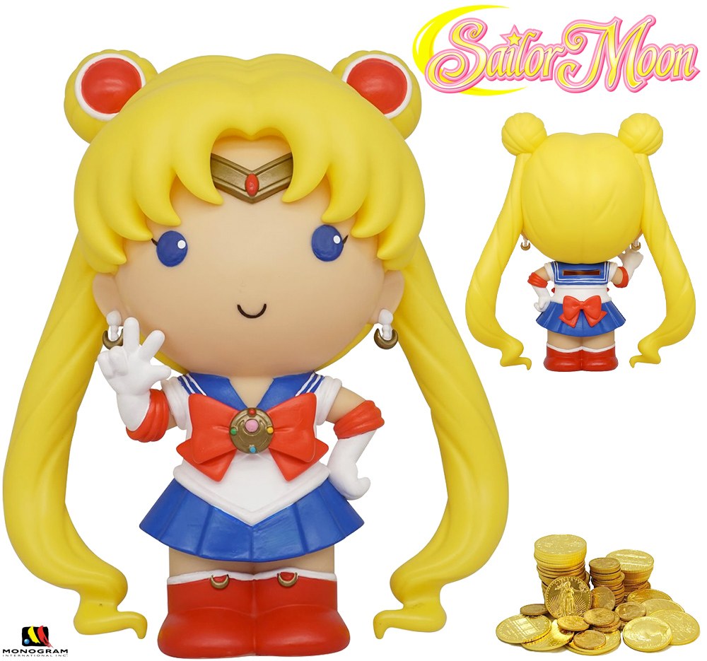 Cofre Sailor Moon Figural Bank