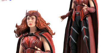 "Action Figure Feiticeira Escarlate (Elizabeth Olsen) Marvel Select Line 7"" da Série WandaVision"