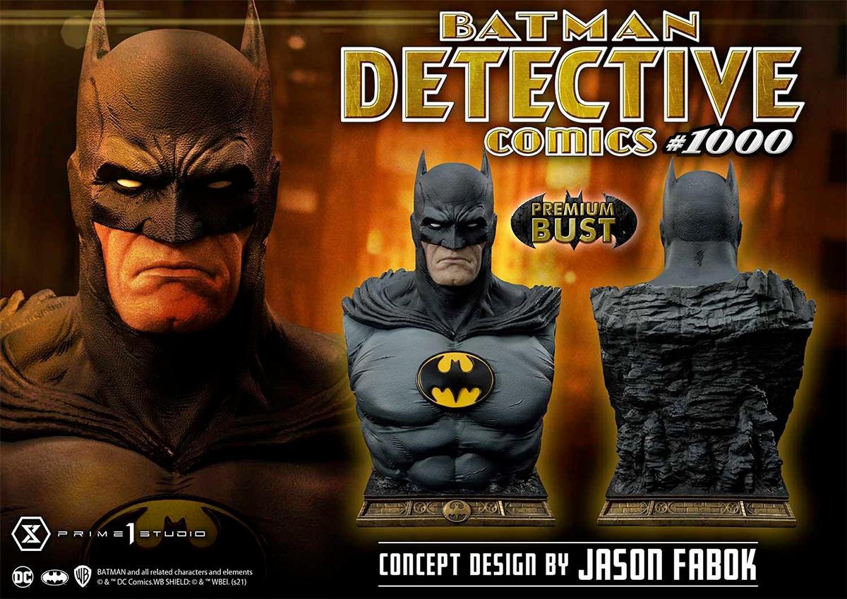 Batman Detective Comics #1000 DC Comics Museum Masterline 1/3 Scale Bust