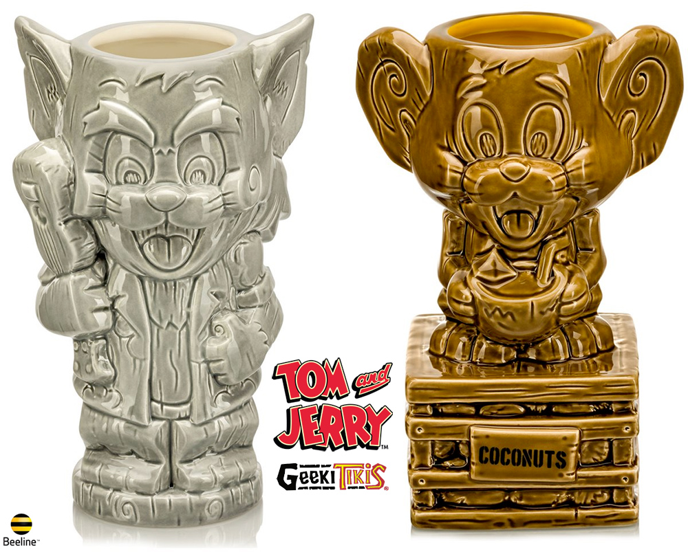 Canecas Tom & Jerry Geeki Tikis