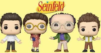Bonecos Pop! TV da Série Seinfeld