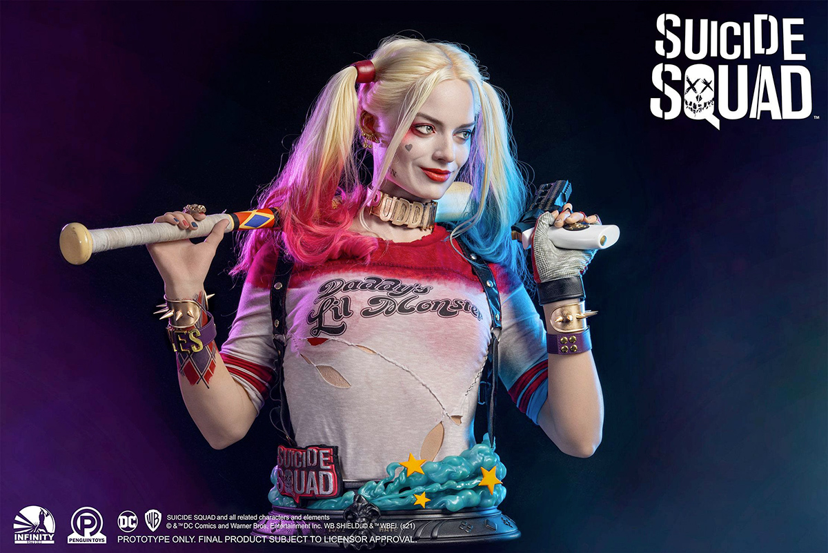 Busto Arlequina Suicide Squad Harley Quinn Life-Size Bust