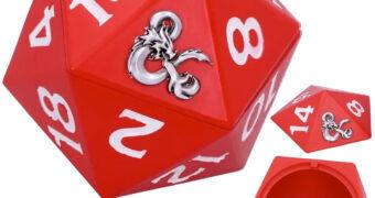 Caixa de Dados Dungeons & Dragons D20