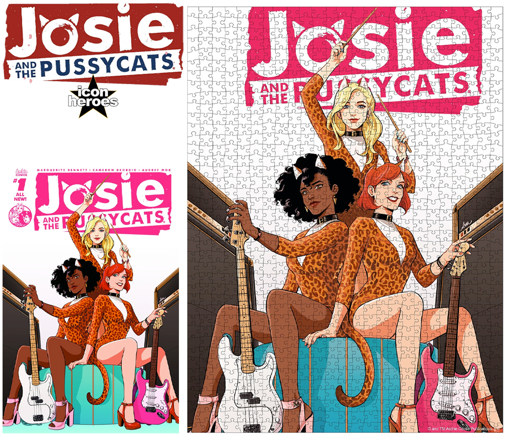 Quebra-Cabeça Josie and the Pussycats 1000-Piece Puzzle