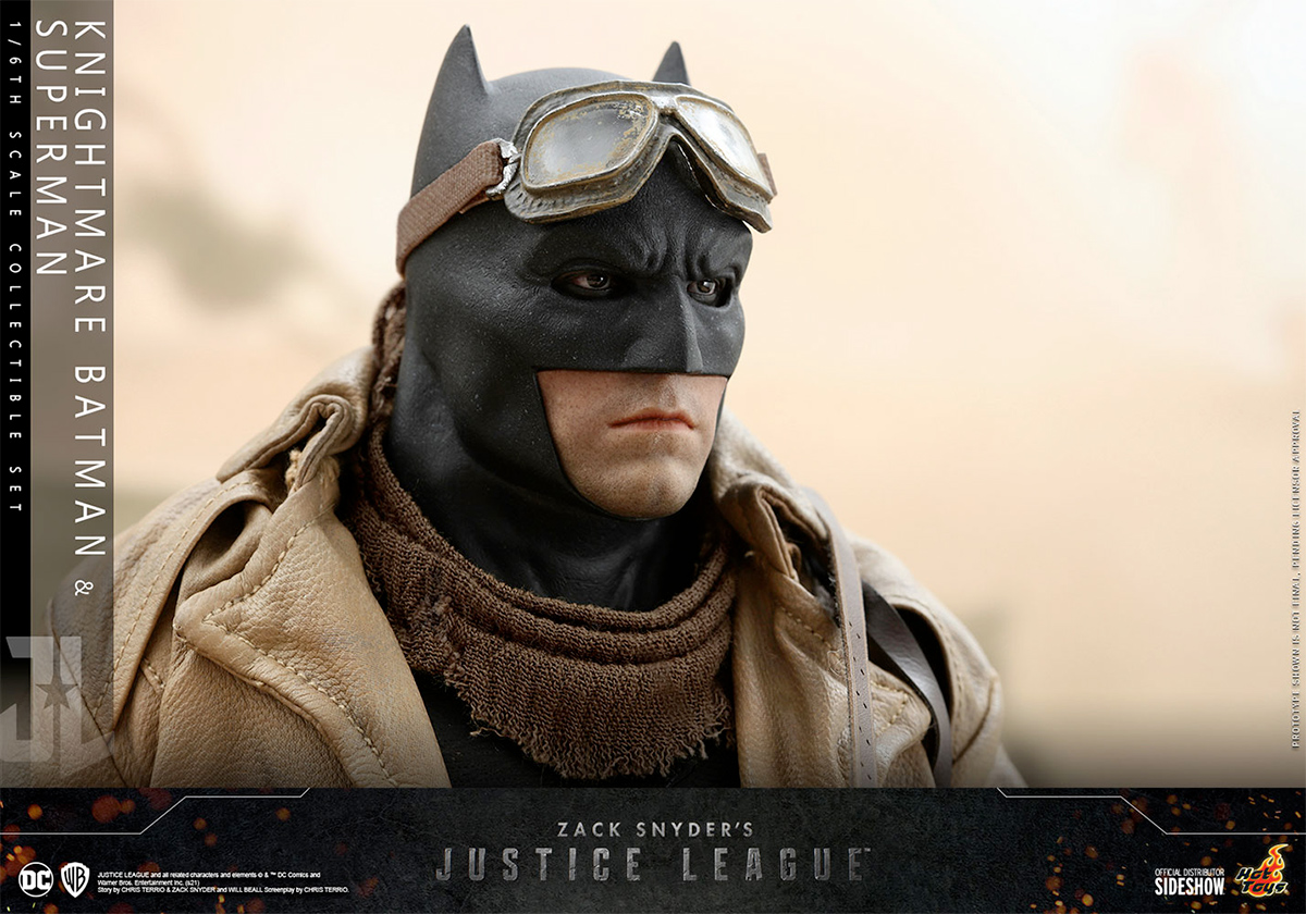 Action Figures Liga da Justiça de Zack Snyder Superman Batman Hot Toys