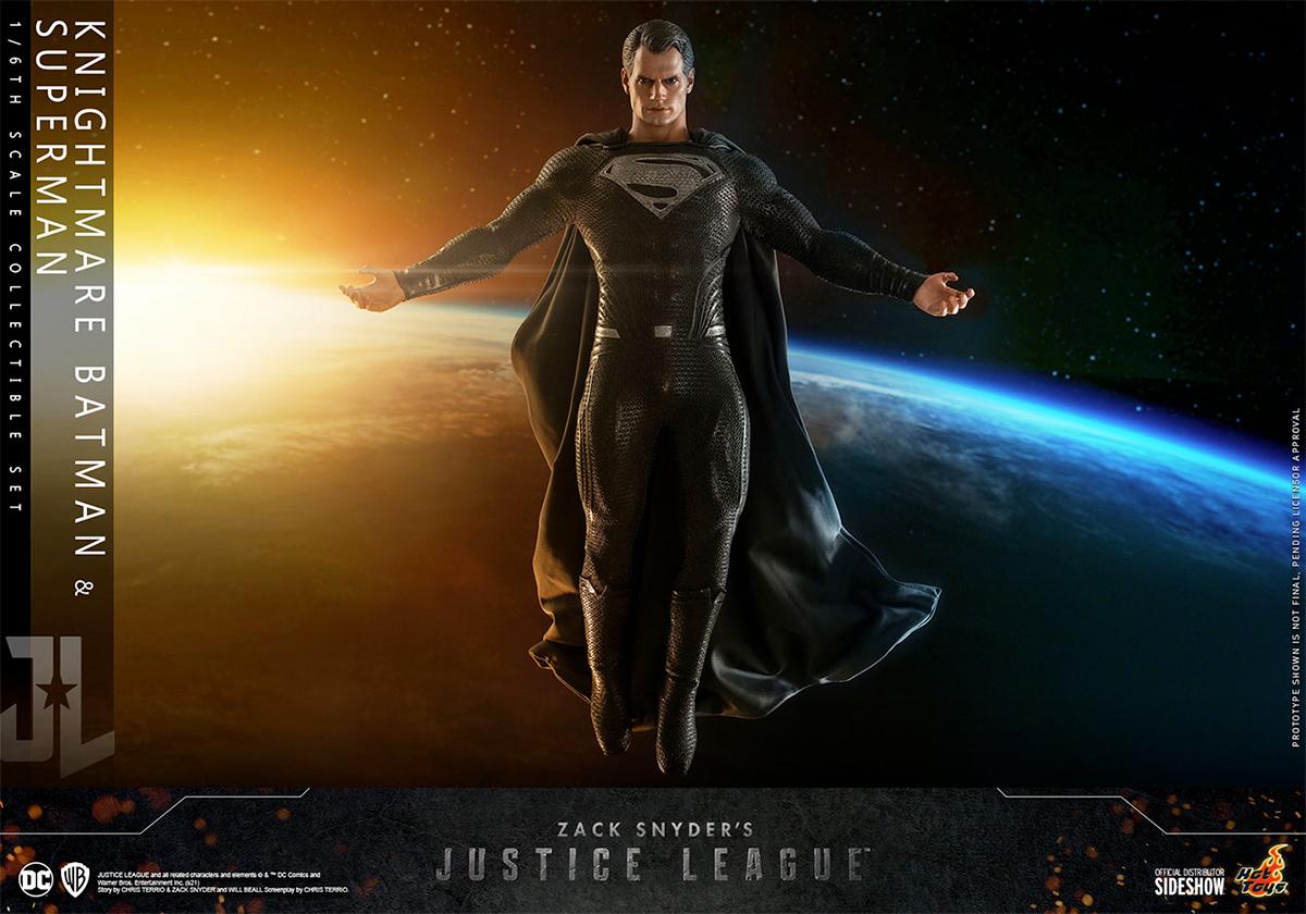 Action Figures Liga da Justiça de Zack Snyder Superman Batman Hot Toys