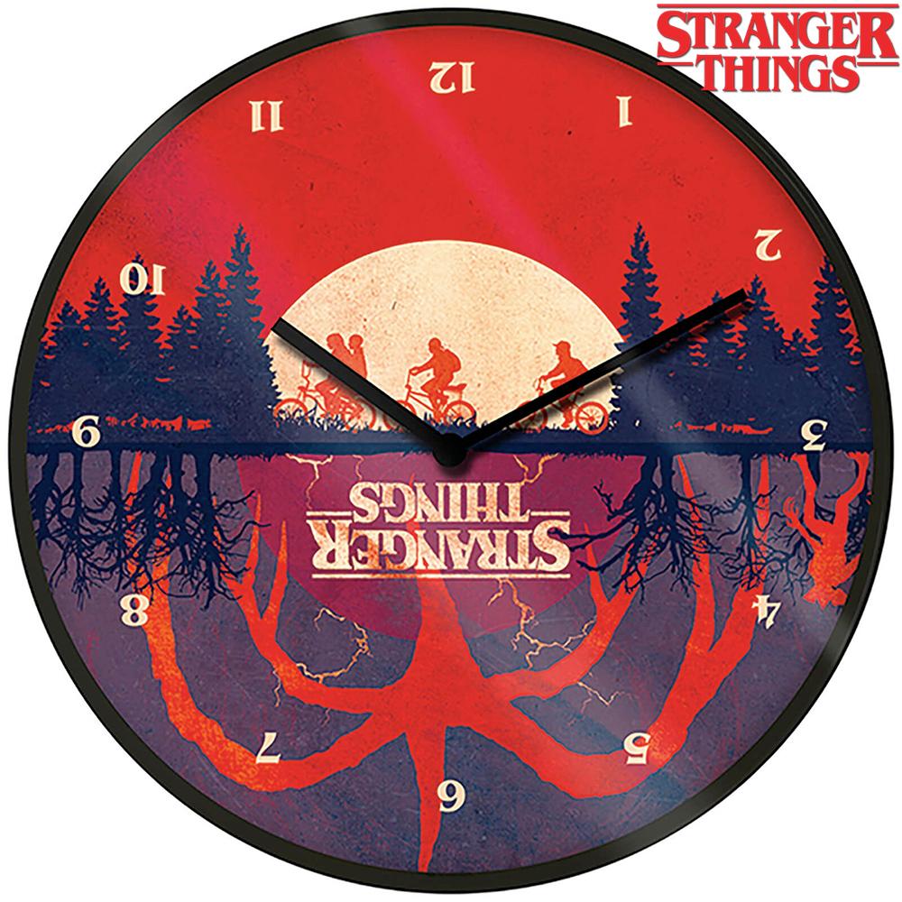 Relógio de Parede Stranger Things Upside Down