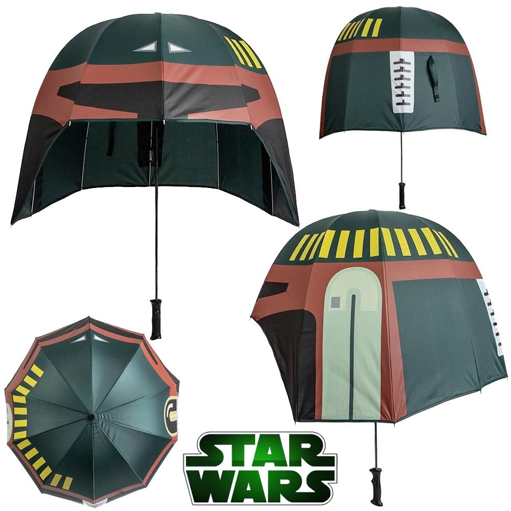 Guarda-Chuva Star Wars Boba Fett Helmet Umbrella