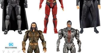 Super-Heróis da Liga da Justiça de Zack Snyder – Action Figures 7″ McFarlane Toys