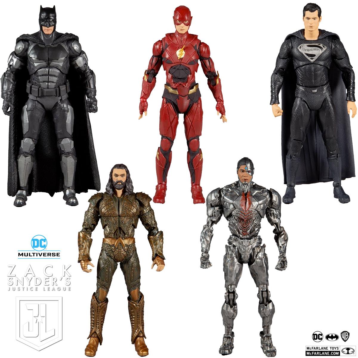 Super-Heróis da Liga da Justiça de Zack Snyder - Action Figures 7