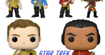 """Star Trek TOS Pop! com """"Mirror, Mirror"""", Kirk e o Vilão Khan"""
