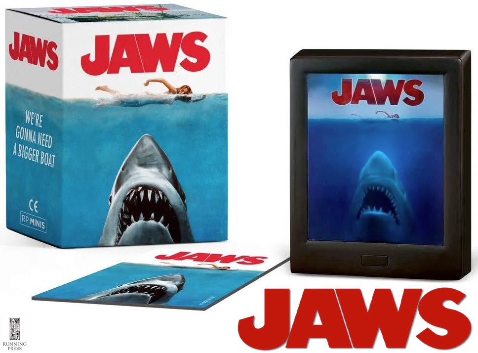 Tubarão Jaws We are Gonna Need a Bigger Boat Miniature Shadow Box