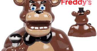 Cofre Ferddy Fazbear do Game Five Nights at Freddy's