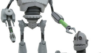 O Gigante de Ferro em Modo de Batalha Action Figure Select Line (The Iron Giant)