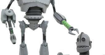 O Gigante de Ferro em Modo de Batalha Action Figure Select Line (The Iron Giant)