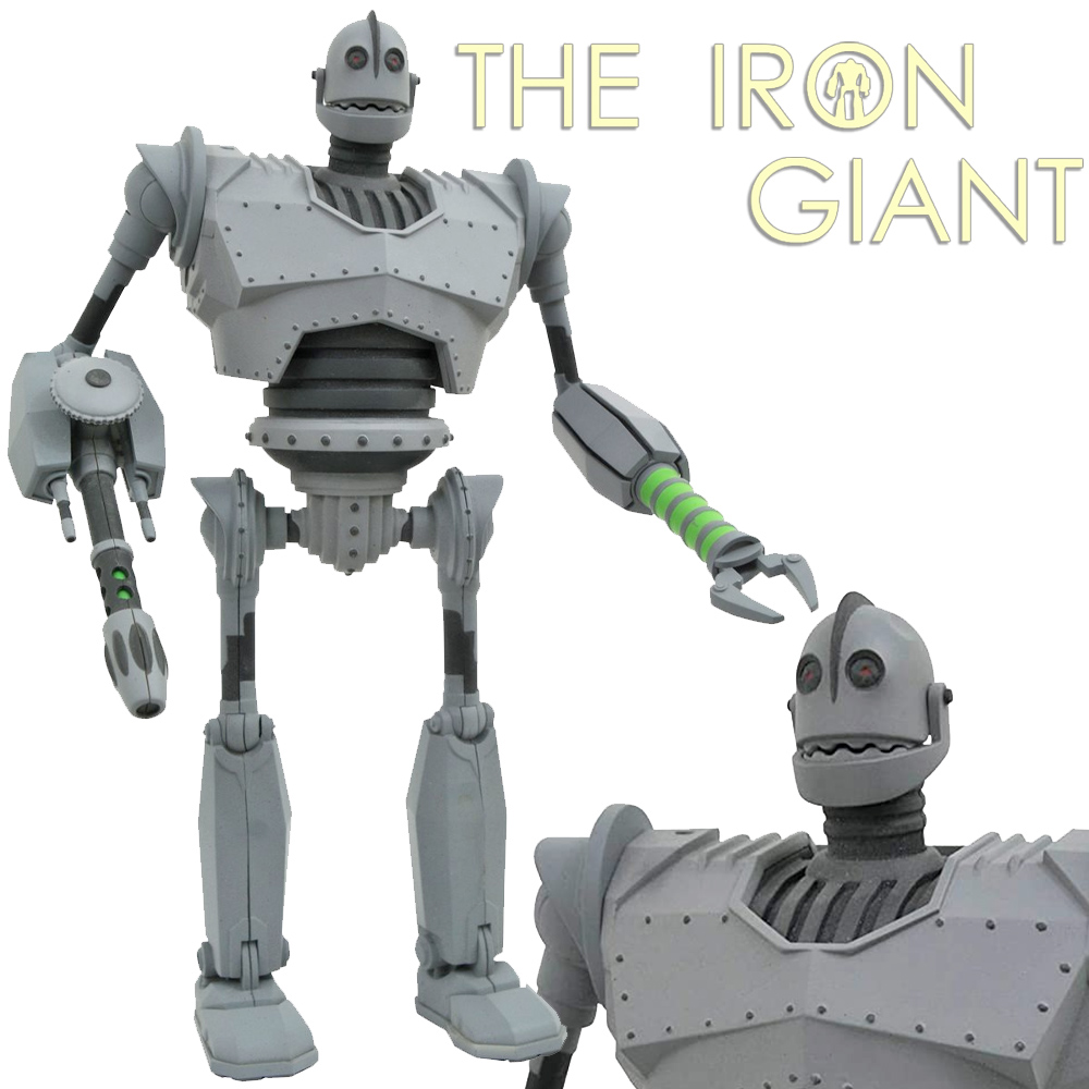 O Gigante de Ferro Iron Giant Select Battle Mode Action Figure