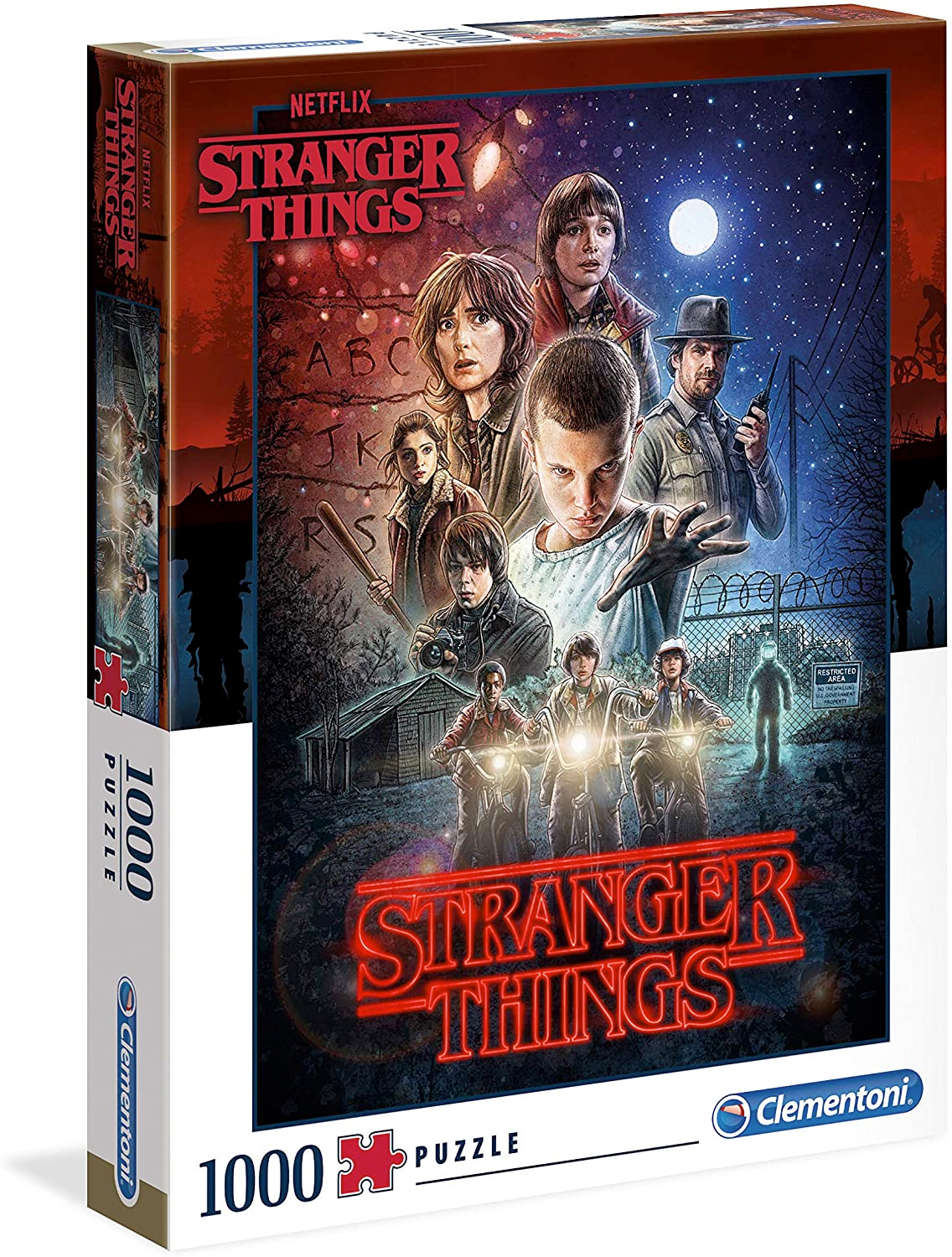 Quebra Cabecas Stanger Things Posters Clementoni