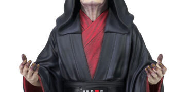 Imperador Palpatine em Star Wars: A Ascensão Skywalker – Mini-Busto Gentle Giant Escala 1:6