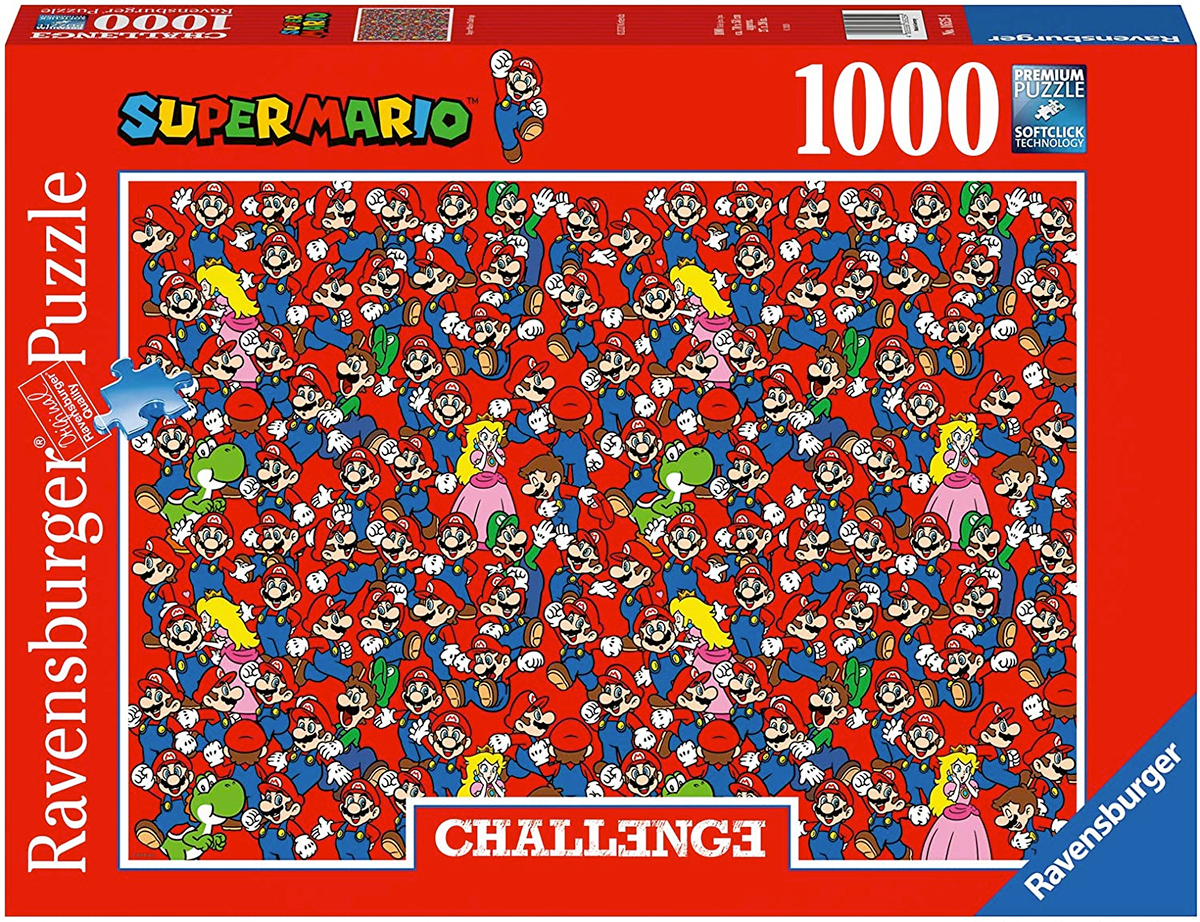 Quebra-Cabeça Impossível Super Mario Challenge Puzzle 1000 pcs Ravensburger