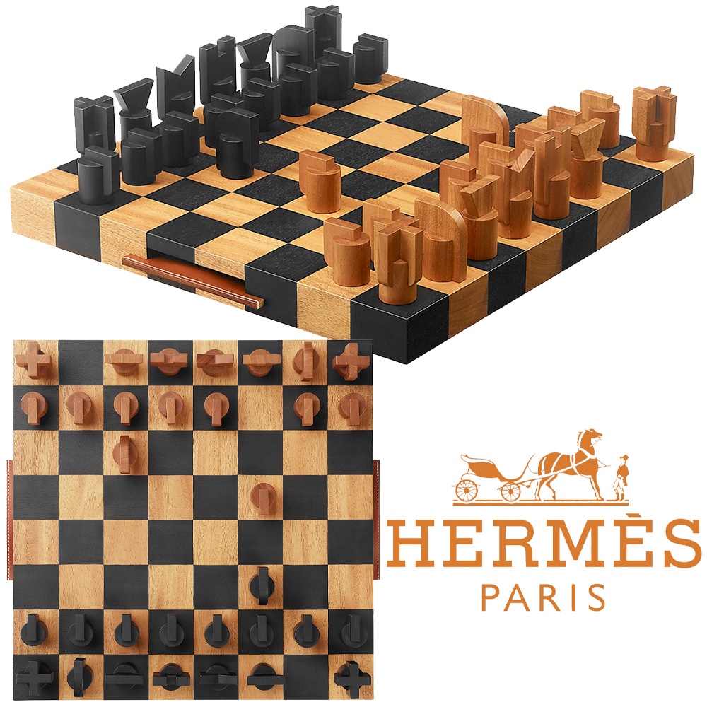 Xadrez Hermès Horsecut Chess Game