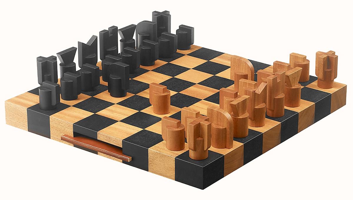 Xadrez Hermès Horsecut Chess Game