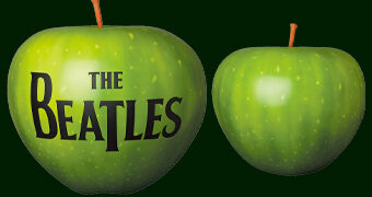 Maçã Verde da Apple Records dos Beatles – Estátua Medicom Japão