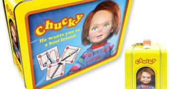 """Lancheira Chucky """"Good Guy"""", o Seu Melhor Amigo"""