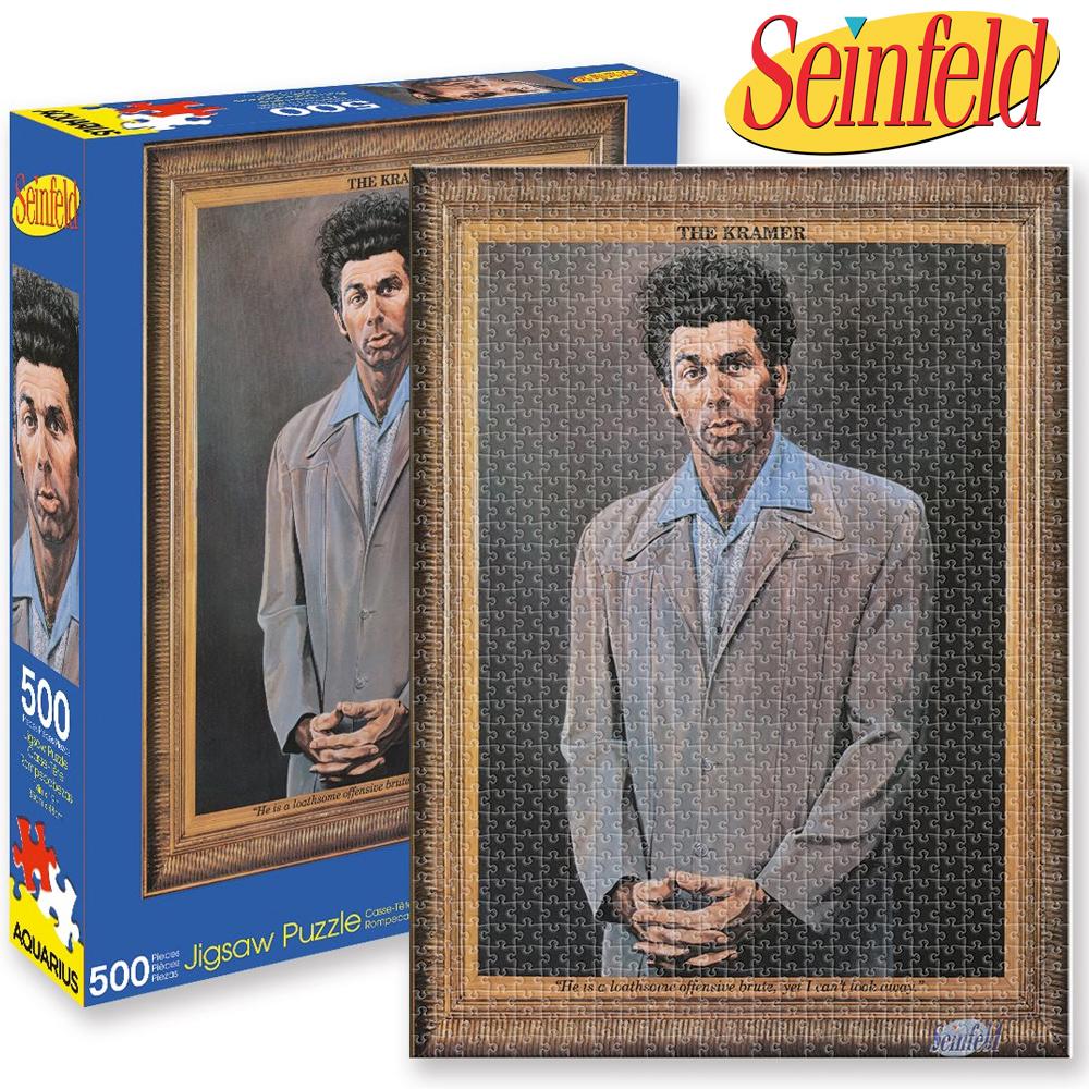 Quebra Cabeca Seinfeld The Kramer