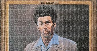 The Kramer, o Quadro – Quebra-Cabeça Seinfeld com 500 Peças