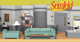 Apartamento de Jerry Seinfeld Funko Mini-Moments Playset Diorama
