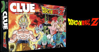 Jogo Clue (Detetive) Dragon Ball Z
