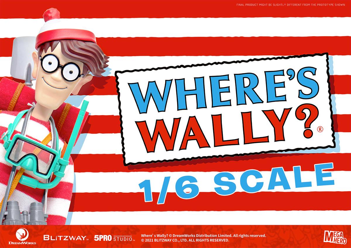 Action Figure Onde Esta Wally MegaHero Escala 1:6