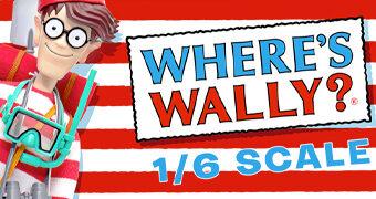 Onde está Wally? Action Figure Waldo MegaHero de Luxo em Escala 1:6 com Acessórios