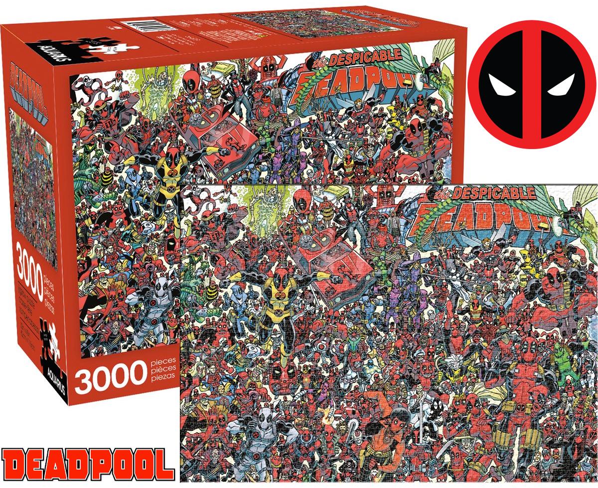 Quebra-Cabeça Deadpool com 3.000 Peças