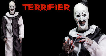 Action Figure Palhaço Art the Clown do Filme Terrifier